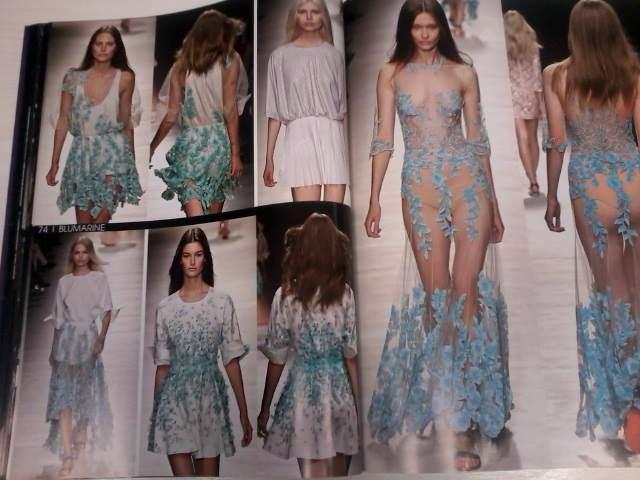 TOP5 di inizio anno. Proposte alta moda primavera/estate 2015.