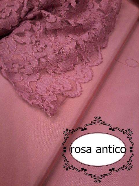 rosa antico Le (cinquanta) sfumature del rosa.