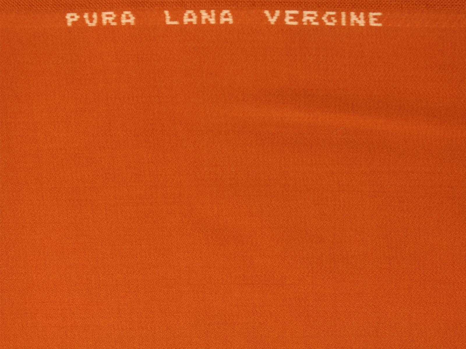 00477 Raso in lana arancione TAGLIO 1,60 mt
