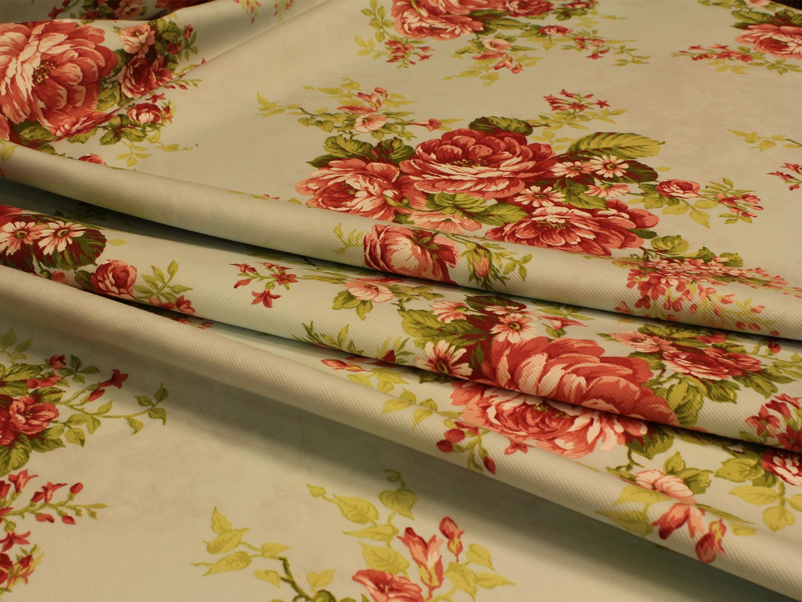 Fiore sanderson grande giusti tessuti for Tessuti arredamento on line