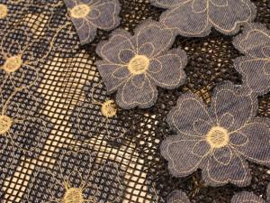 01125 300x225 Rete nera fiori jeans