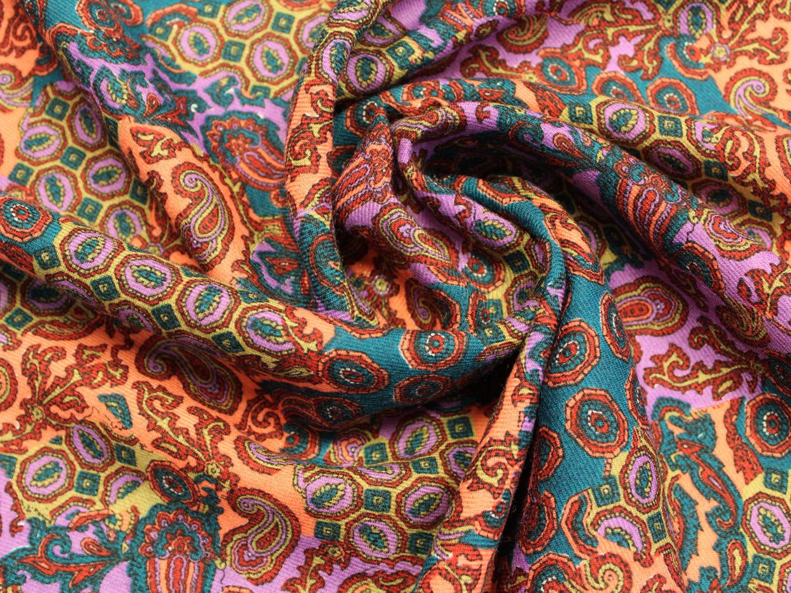 Cachemire geometrico giusti tessuti for Vendita tessuti arredamento on line