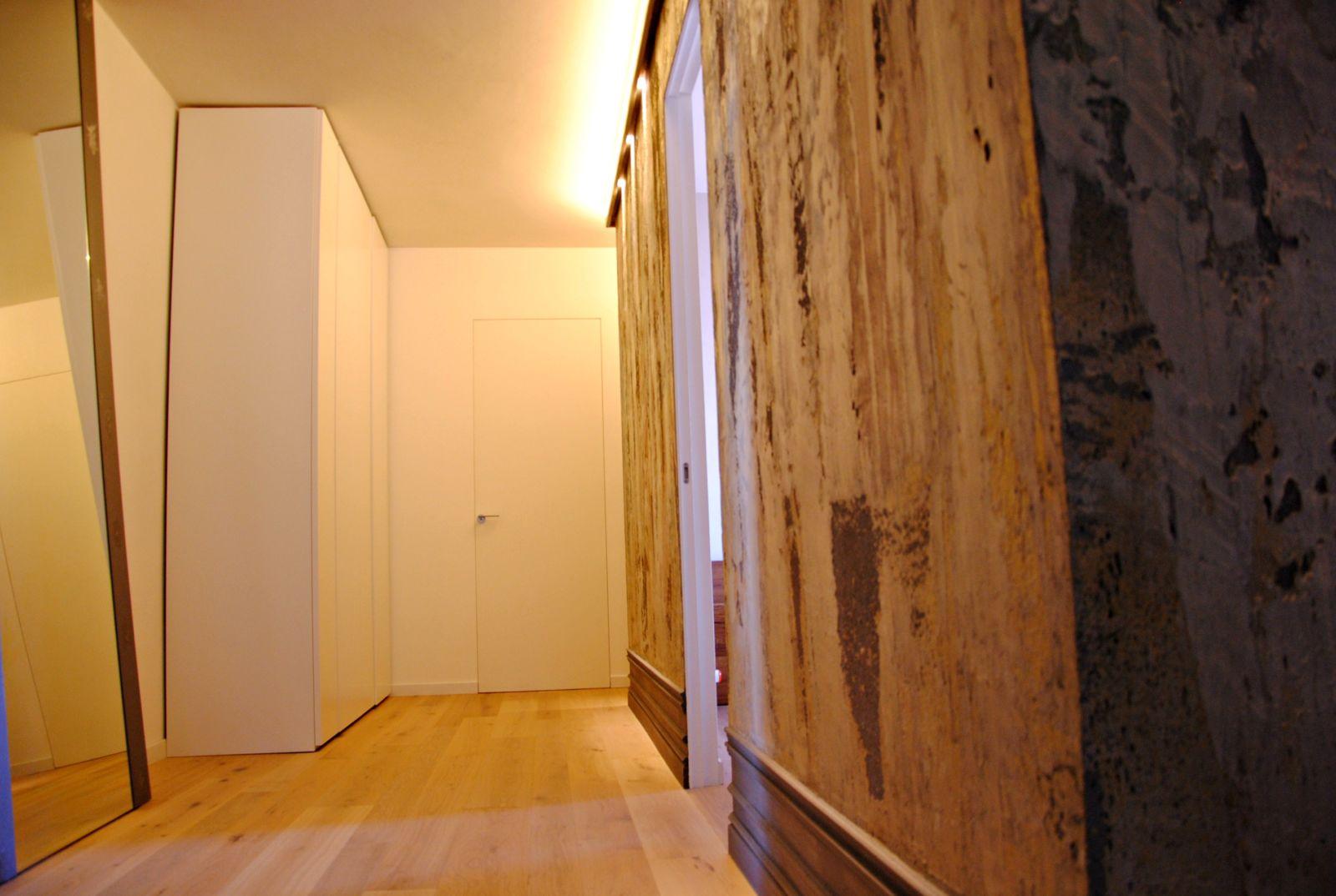 """DSC 1694 Linee pulite e mobilio in sospensione. La """"casa bianca"""" di Gioia e Giacomo."""