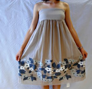 DSC 1867 300x293 Mini Dress Floreale