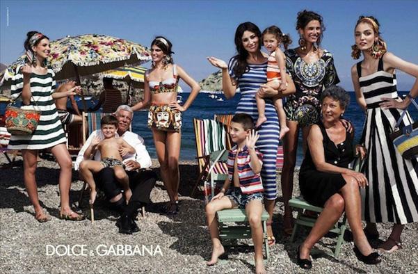1. Campagna pubblicitaria Primavera Estate 2013 Dolce Gabbana L'ISOLA CHE ABITO. Da Marras a Dolce & Gabbana