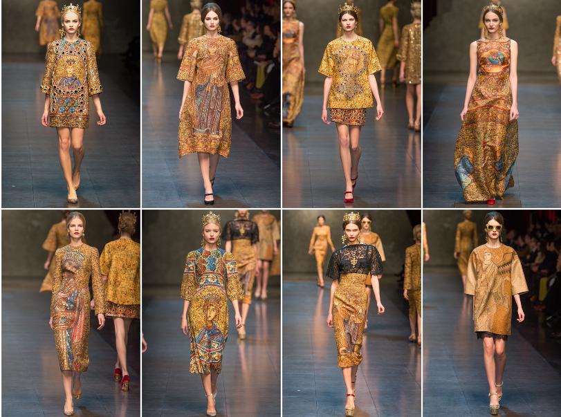 Collezione Autunno Inverno 2013   2014 Dolce Gabbana 1 L'ISOLA CHE ABITO. Da Marras a Dolce & Gabbana