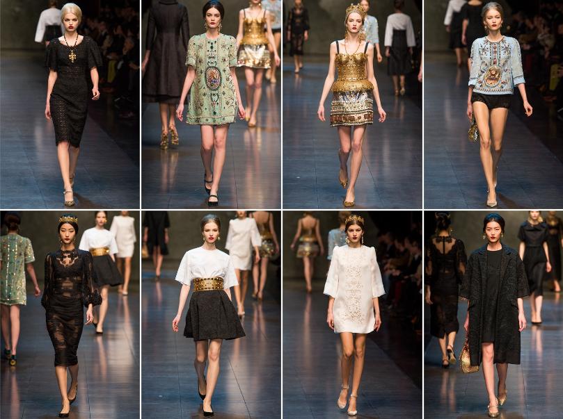 Collezione Autunno Inverno 2013   2014 Dolce Gabbana 2 L'ISOLA CHE ABITO. Da Marras a Dolce & Gabbana