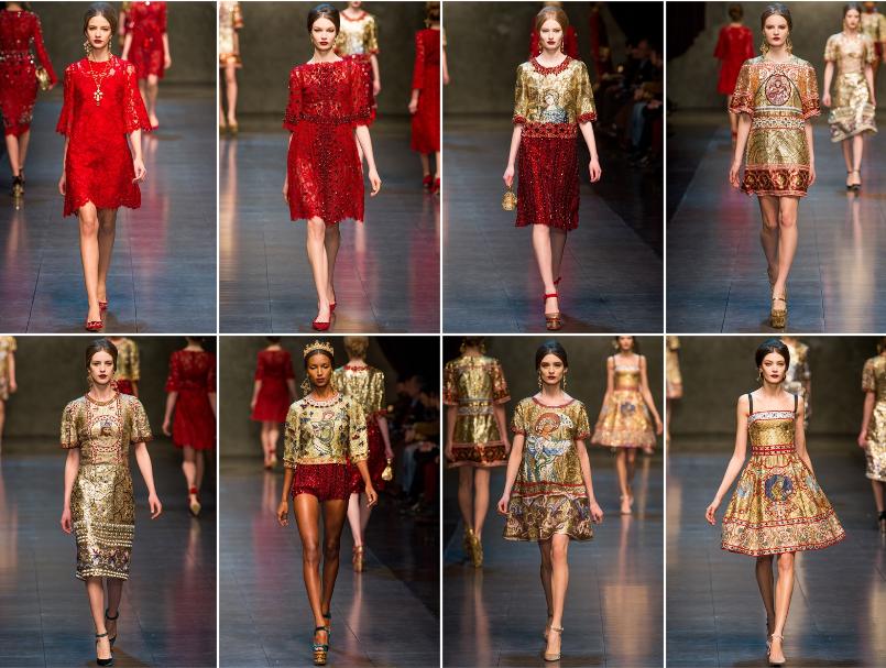 Collezione Autunno Inverno 2013   2014 Dolce Gabbana 3 L'ISOLA CHE ABITO. Da Marras a Dolce & Gabbana