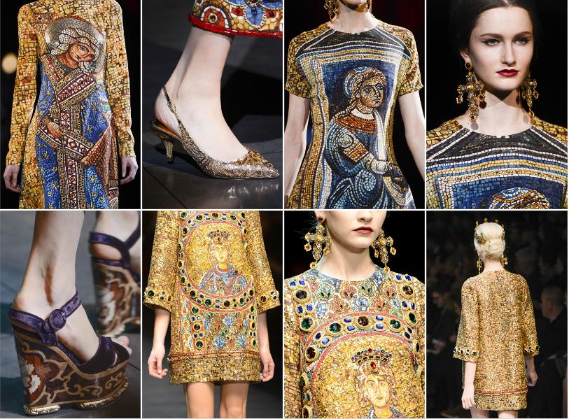 Collezione Autunno Inverno 2013   2014 Dolce Gabbana 4 L'ISOLA CHE ABITO. Da Marras a Dolce & Gabbana