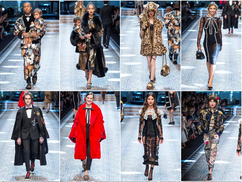Collezione Autunno Inverno 2017   2018 Dolce Gabbana 1 L'ISOLA CHE ABITO. Da Marras a Dolce & Gabbana