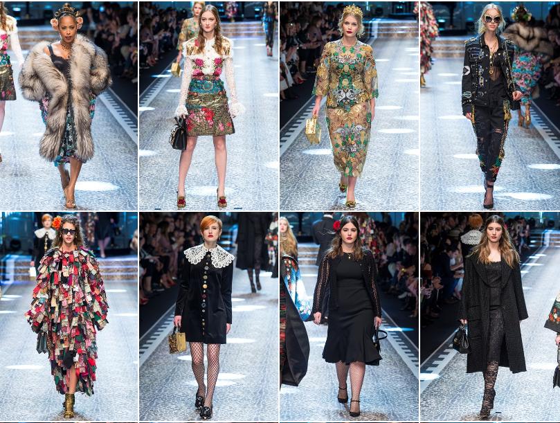 Collezione Autunno Inverno 2017   2018 Dolce Gabbana 2 L'ISOLA CHE ABITO. Da Marras a Dolce & Gabbana