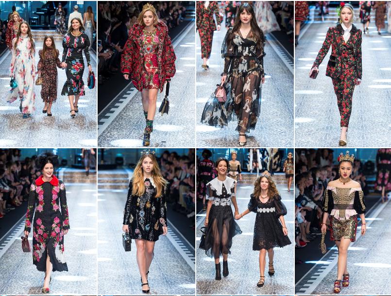 Collezione Autunno Inverno 2017   2018 Dolce Gabbana 3 L'ISOLA CHE ABITO. Da Marras a Dolce & Gabbana