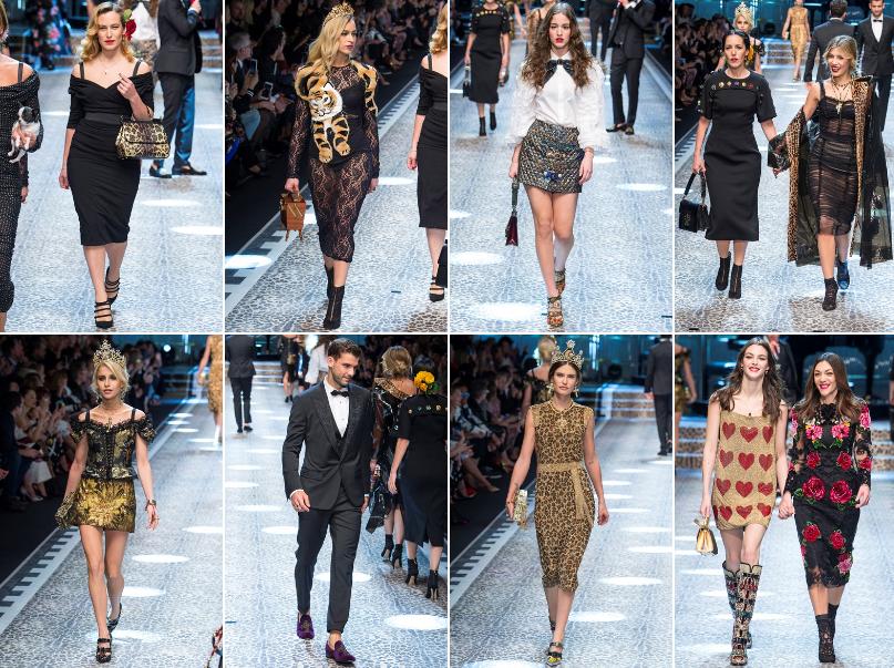 Collezione Autunno Inverno 2017   2018 Dolce Gabbana 4 L'ISOLA CHE ABITO. Da Marras a Dolce & Gabbana