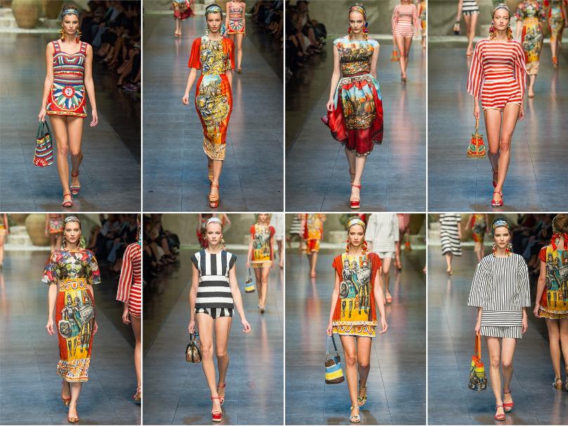 Collezione Primavera Estate 2013 Dolce Gabbana 1 L'ISOLA CHE ABITO. Da Marras a Dolce & Gabbana