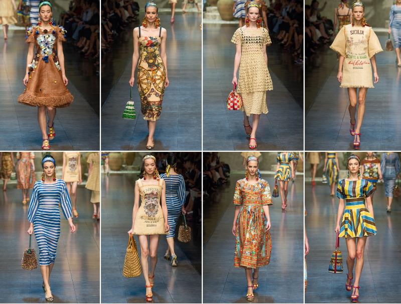 fab1db9b1f Collezione Primavera Estate 2013 Dolce & Gabbana (2) | Giusti Tessuti