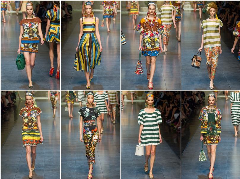 a5e5d37a87 Collezione Primavera Estate 2013 Dolce & Gabbana (3) | Giusti Tessuti
