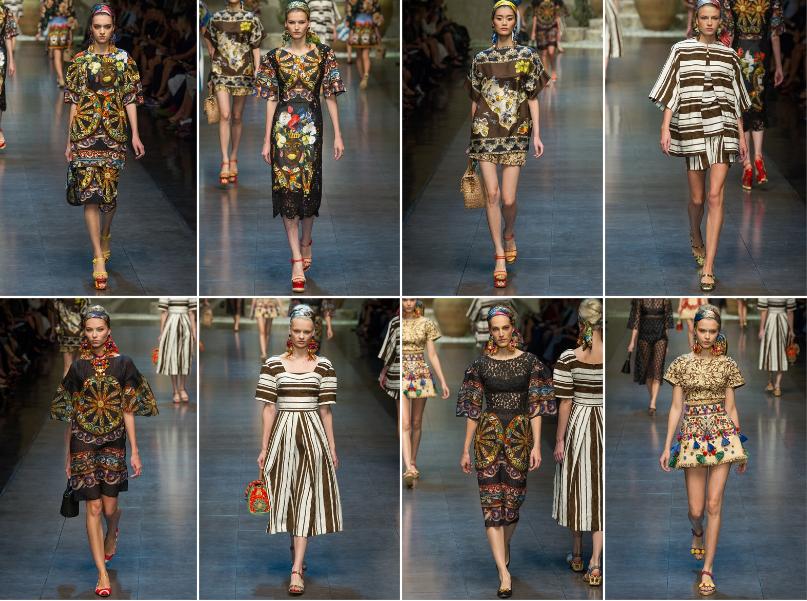 41bfeaa135 Collezione Primavera Estate 2013 Dolce & Gabbana (4) | Giusti Tessuti