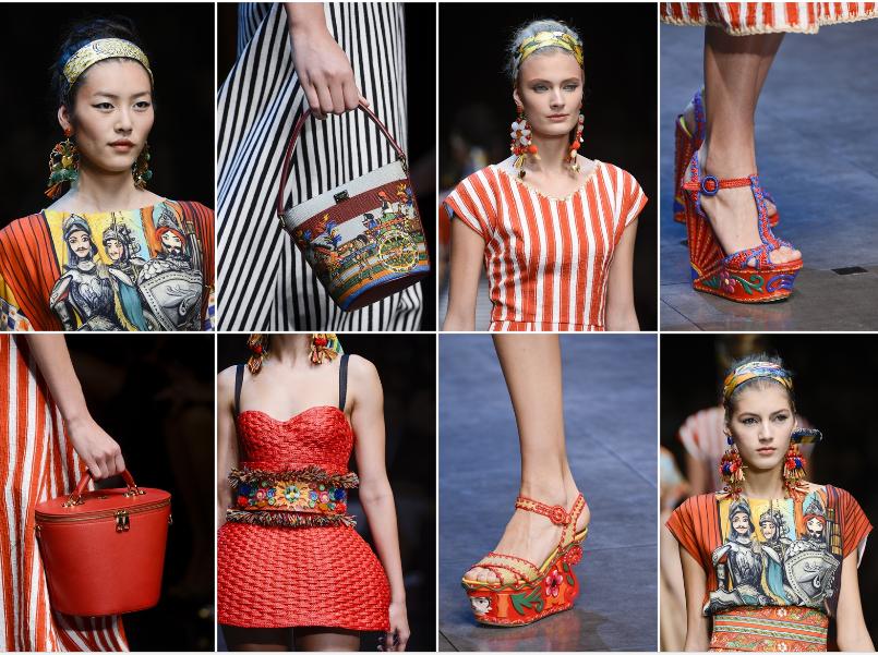 Collezione Primavera Estate 2013 Dolce Gabbana 5 L'ISOLA CHE ABITO. Da Marras a Dolce & Gabbana