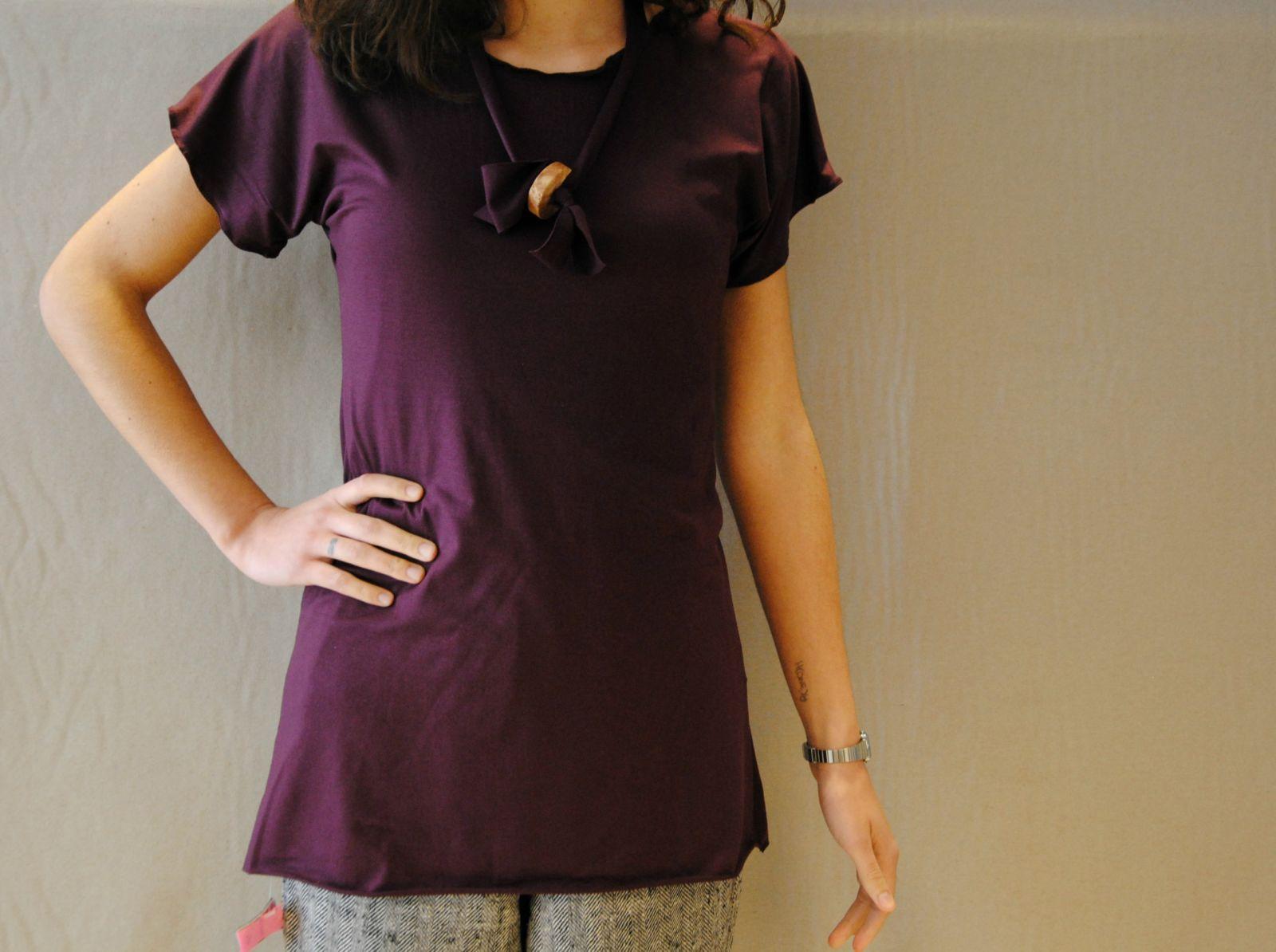DSC 2262 t shirt MODAL marsala