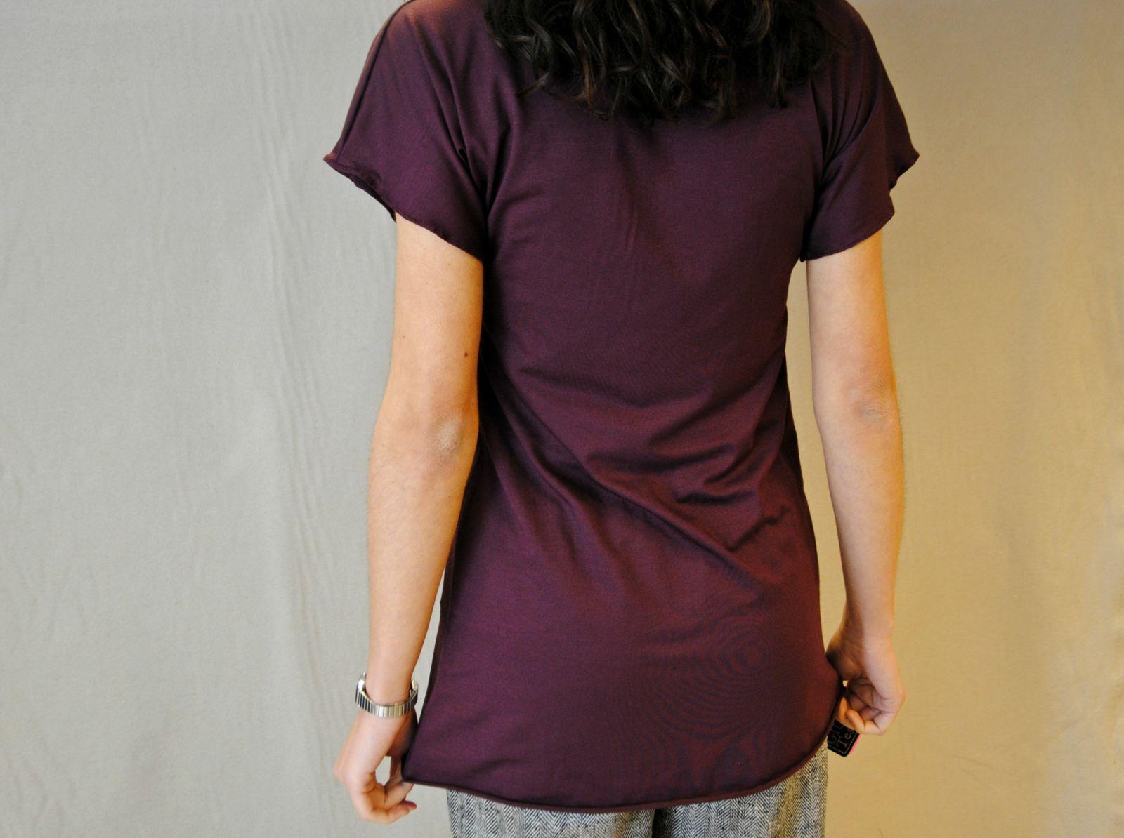DSC 2264 t shirt MODAL marsala