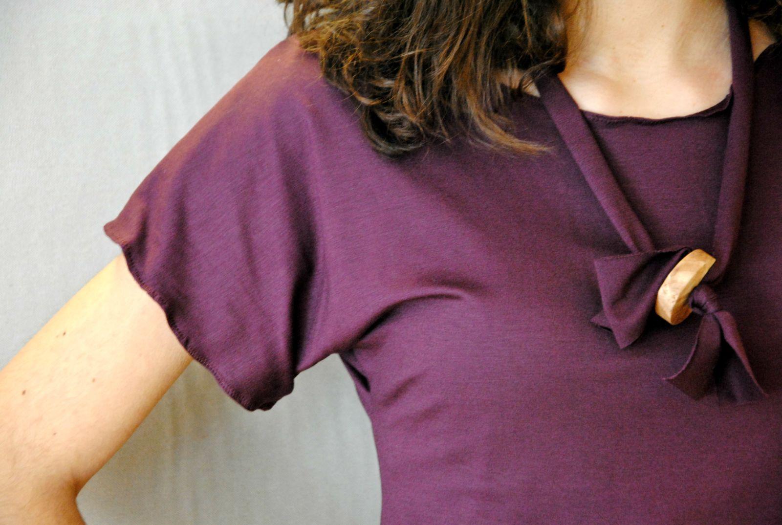 DSC 2268 t shirt MODAL marsala