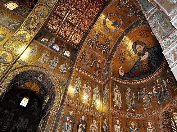Duomo di Monreale L'ISOLA CHE ABITO. Da Marras a Dolce & Gabbana