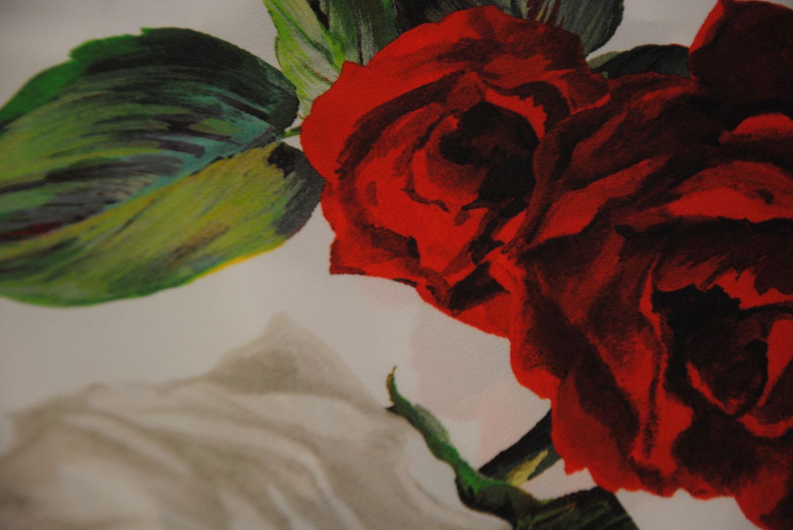 DSC 0809 Red Roses   pura seta OCCASIONE 1,20 mt
