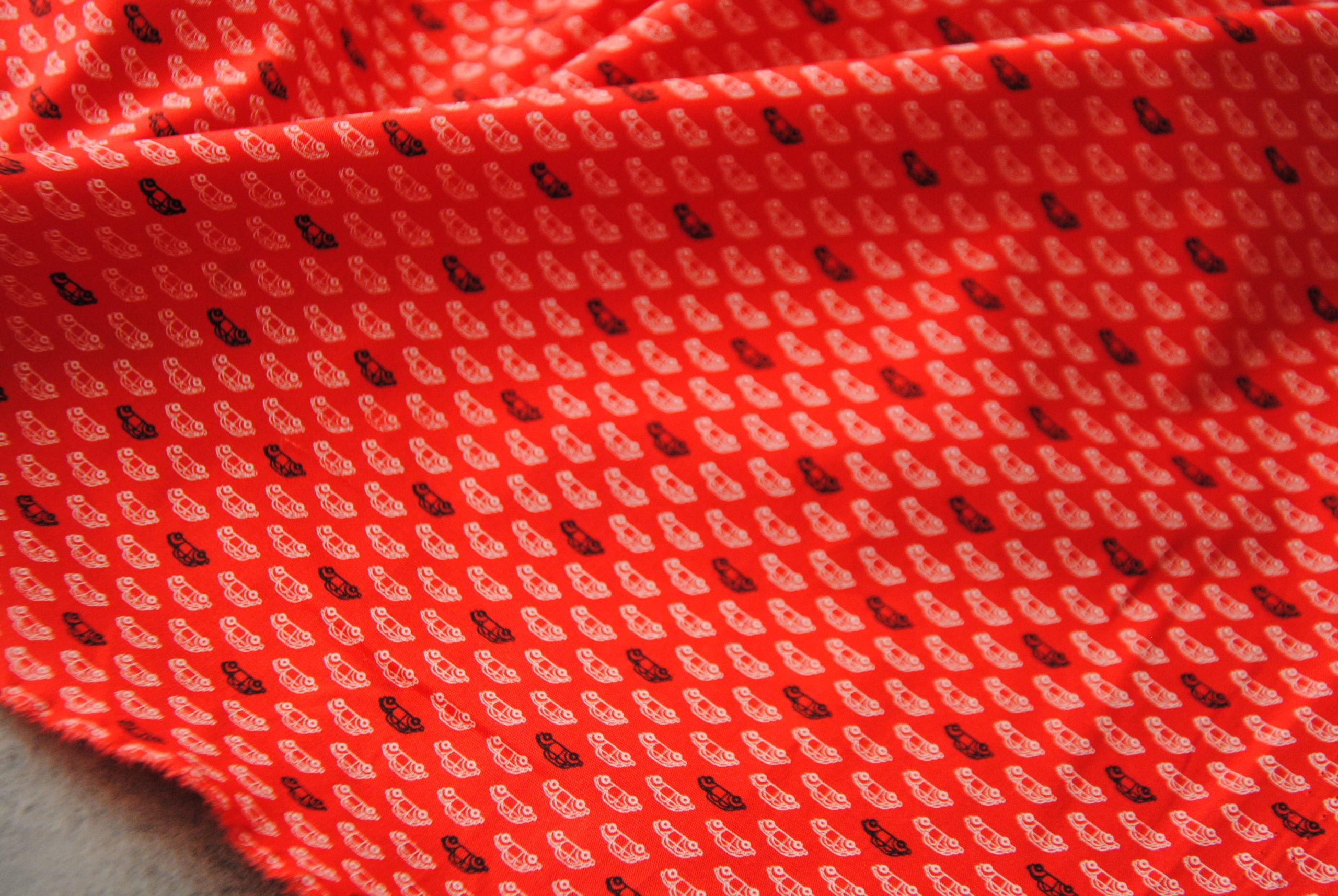 corona 22 scaled Micro Machine   cotone rosso 1,90 mt