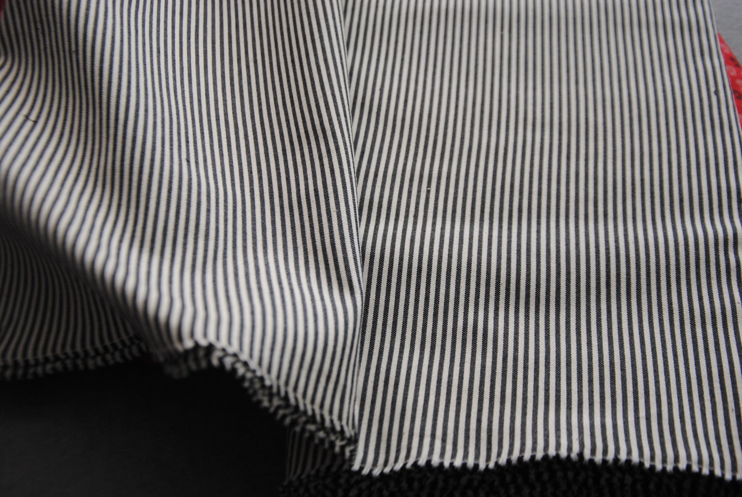 corona 25 scaled Black & white riga   2,20mt ULTIMO TAGLIO