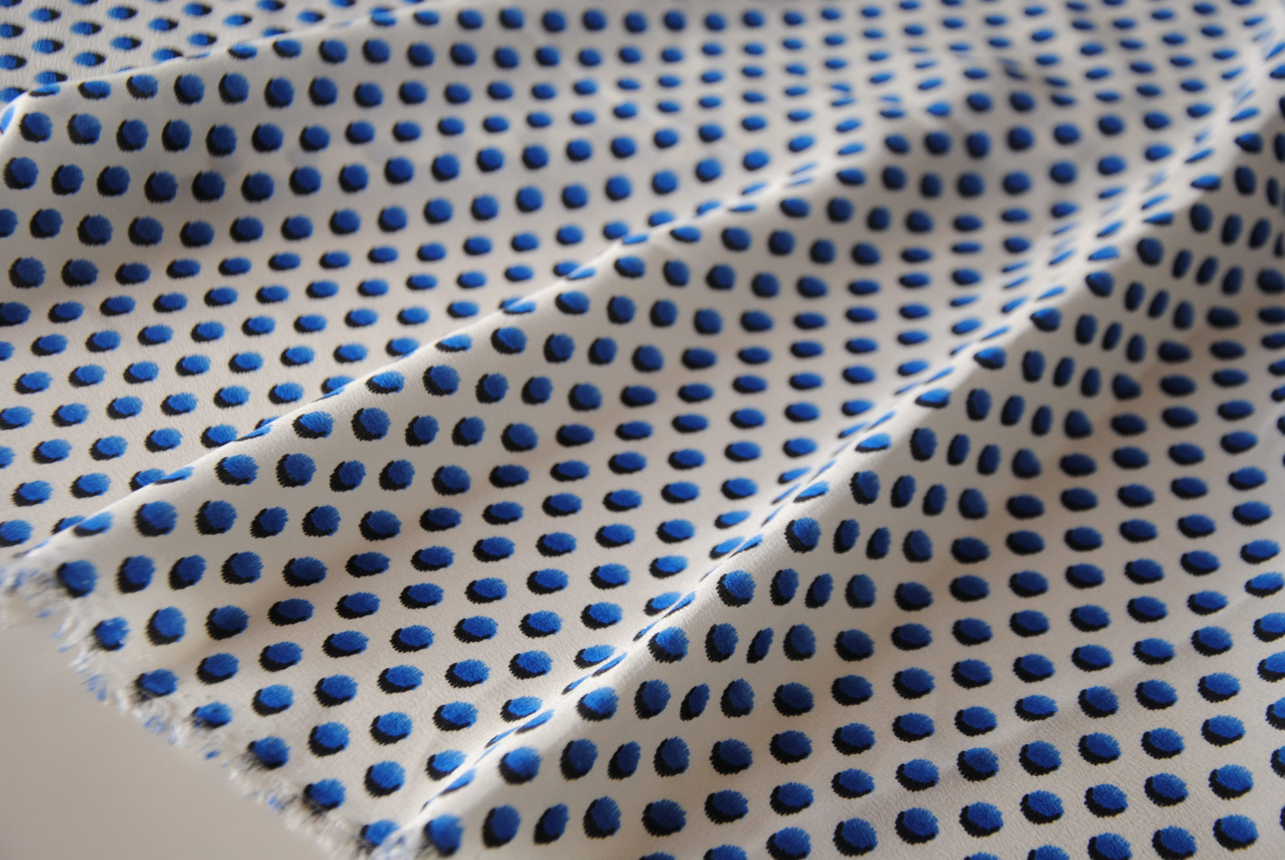 DSC 1265 scaled Seta Pois Azzurro
