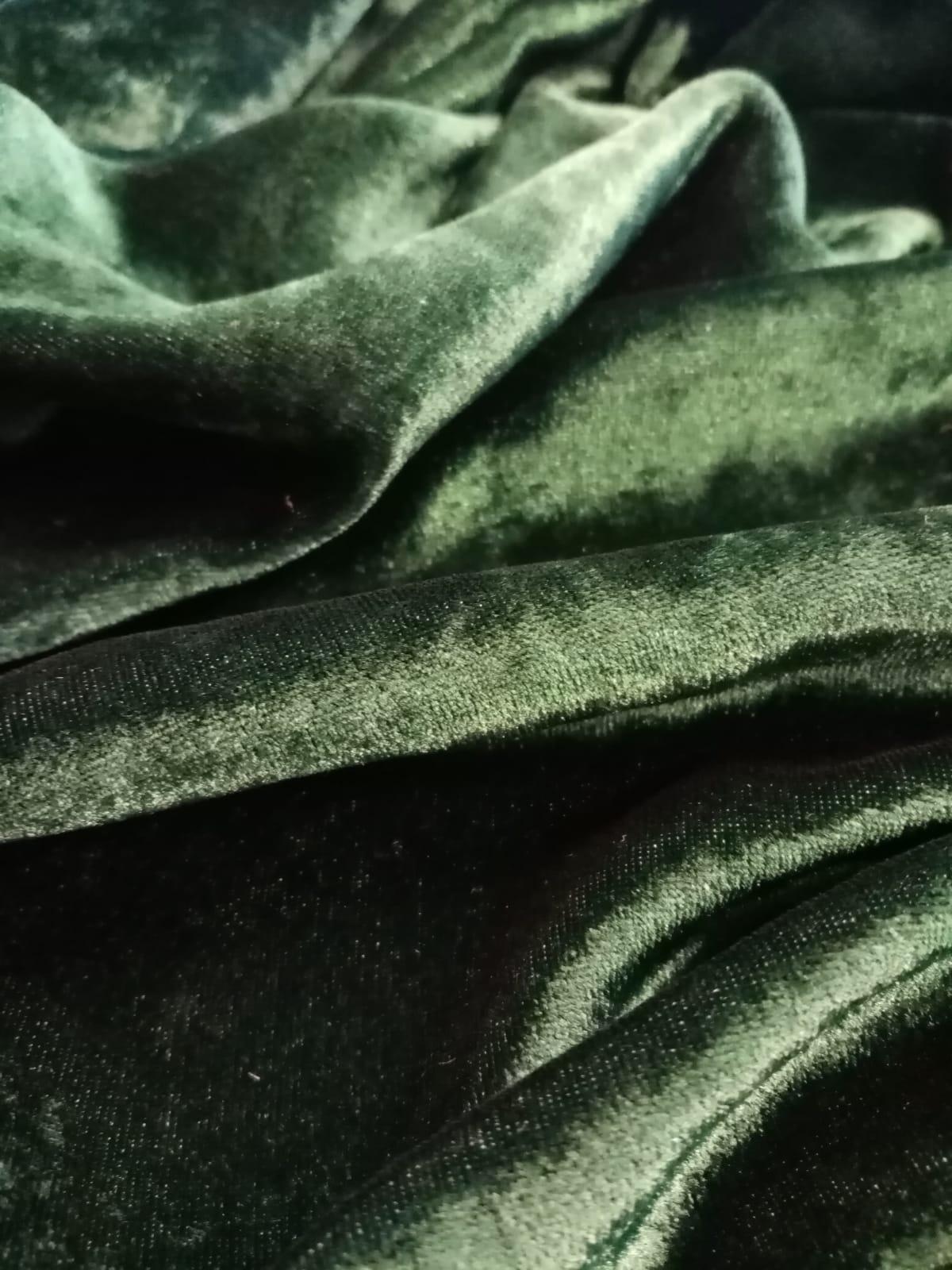 velvet1 Velluto sfumato   smeraldo blu ESCLUSIVO