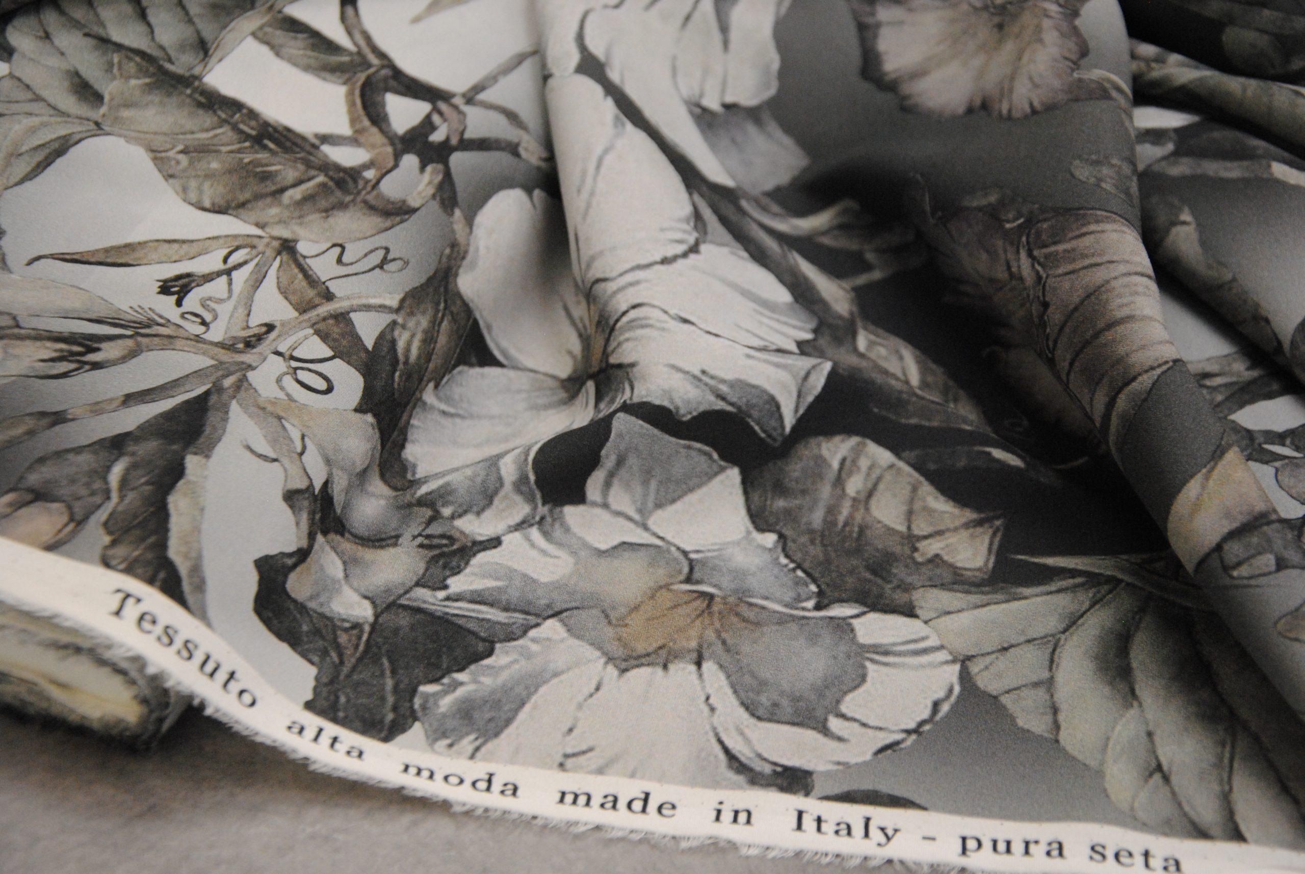 setagrey 1 scaled Fiori Grey   pura seta elastica