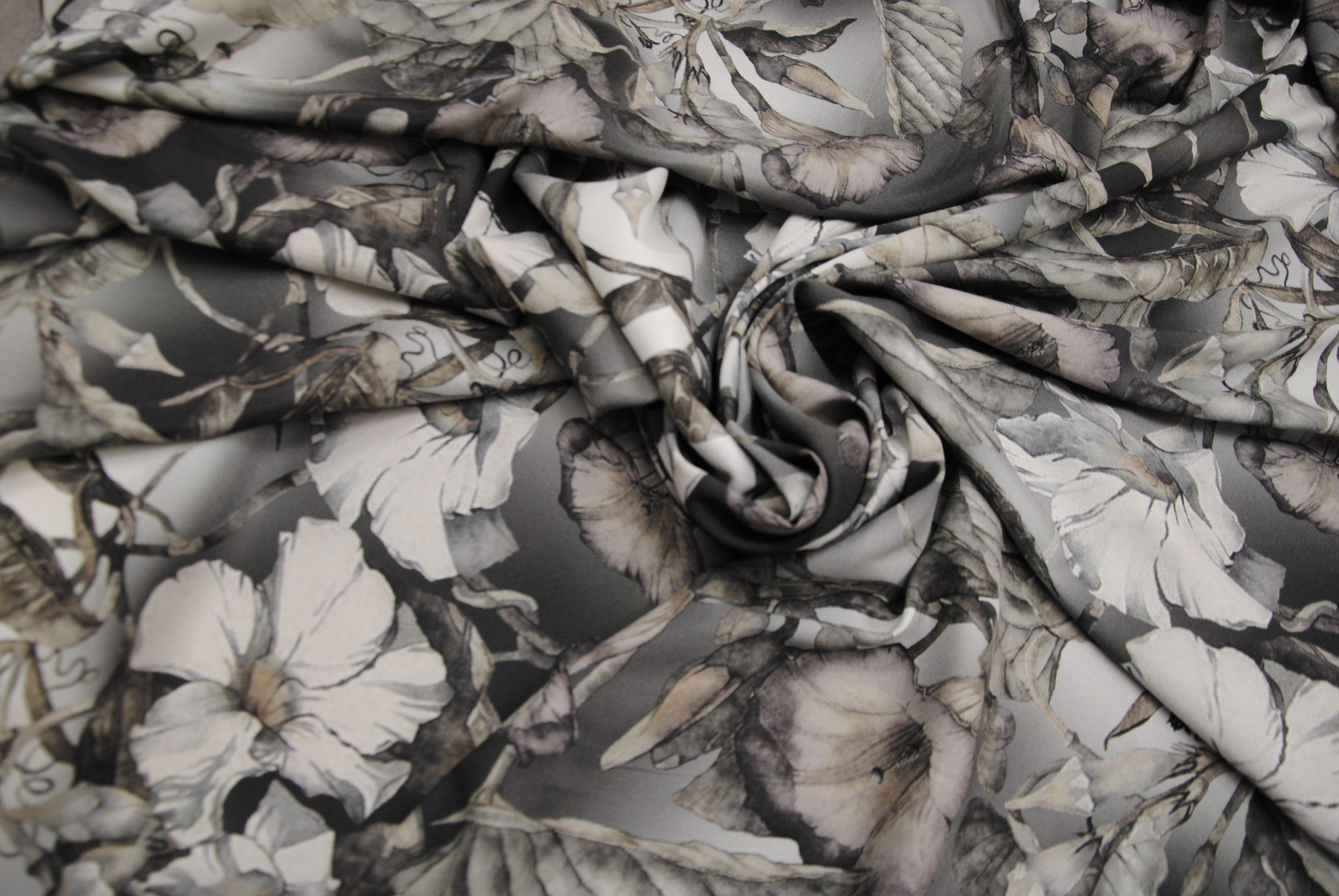 setagrey 2 scaled Fiori Grey   pura seta elastica